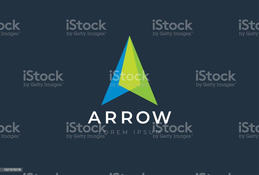 Abstract business arrow up logo icon. Vector design template. abstract business arrow up logo icon vector design template - immagini vettoriali stock e altre immagini di affari royalty-free