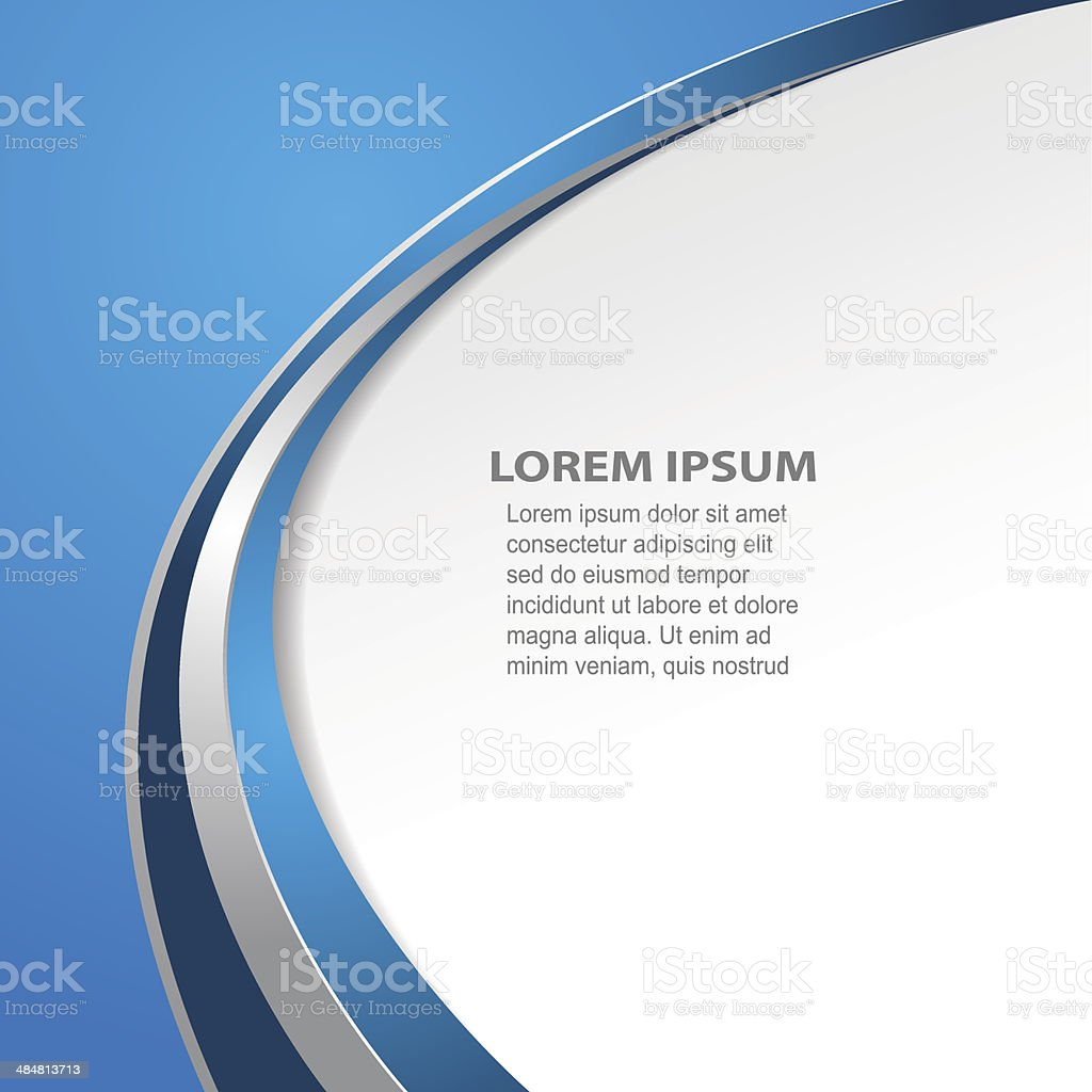Abstract Business Background vector art illustration