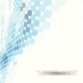 Abstract business background with blue dots