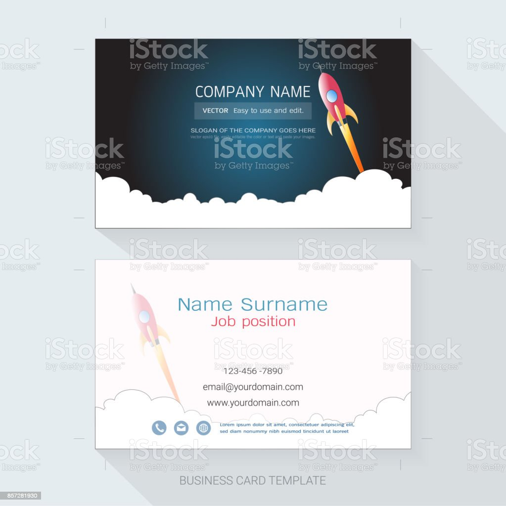 Abstract business card design template the style is simple also abstract business card design template the style is simple also modern and elegant and wajeb Gallery