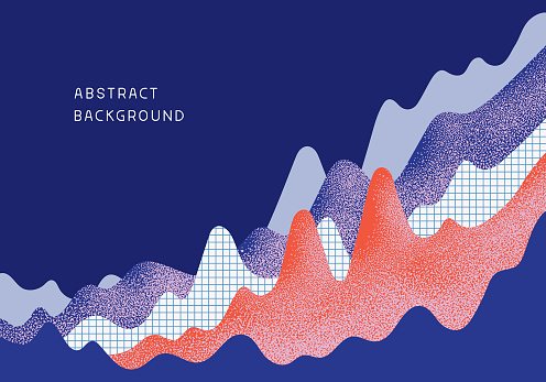 Abstract Business Chart Background