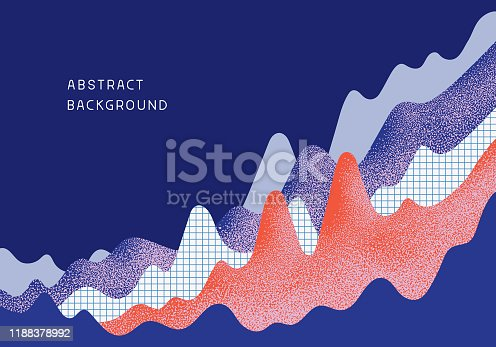 istock Abstract Business Chart Background 1188378992
