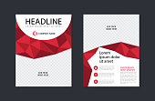Abstract business flyer design template. Modern brochure, leaflet, catalog, magazine layout in letter size
