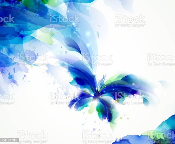 Abstract butterfly with blue and cyan blots vector id841257026?b=1&k=6&m=841257026&s=612x612&h=6gdidtuleyfgvfj7urdlbxk5jj39rmwkjdm21z18e9w=