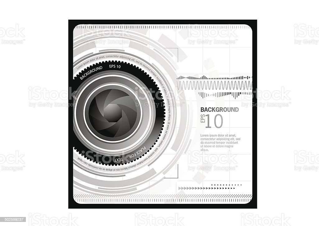 Abstract Camera Background