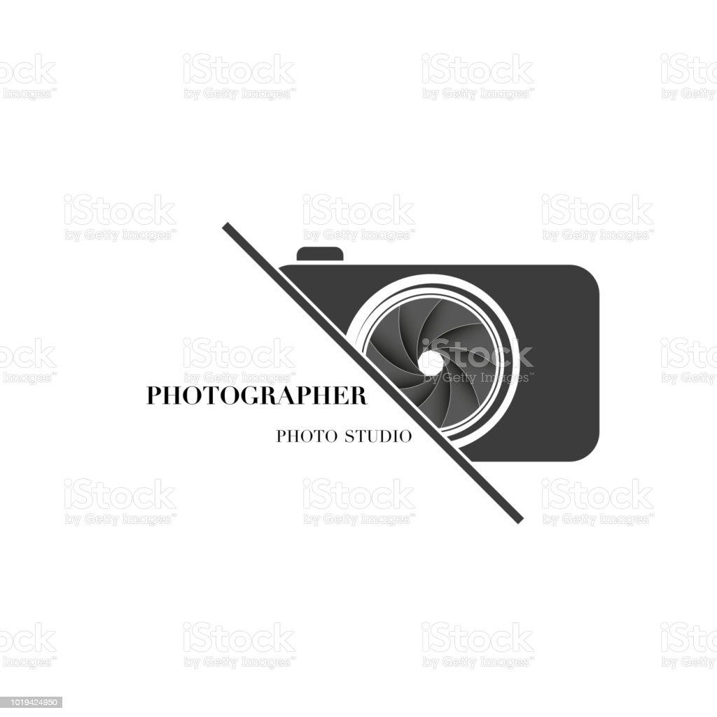 Ilustración De Plantilla De Diseño De Vector Abstracto Cámara