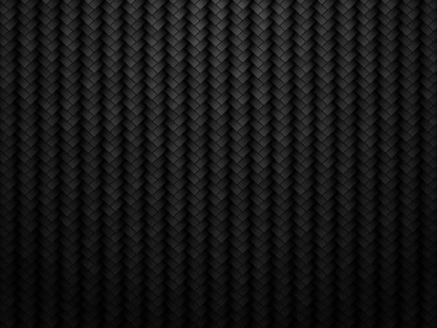 abstract carbon fiber background vector art illustration