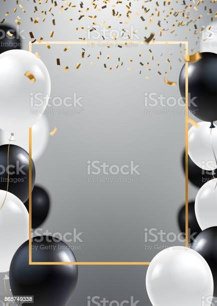 Abstract ceremonial silver background with black and white balloons vector id865749338?b=1&k=6&m=865749338&s=612x612&h=xhukdc3rklhl9xw2p 1ay02 cafyjm86x q mguj5p4=