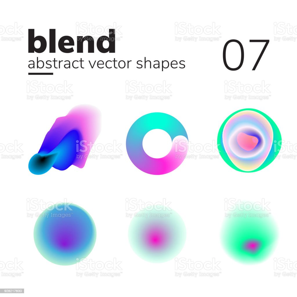 Abstract chaotic shape form for your design royalty-free abstract chaotic shape form for your design stock illustration - download image now