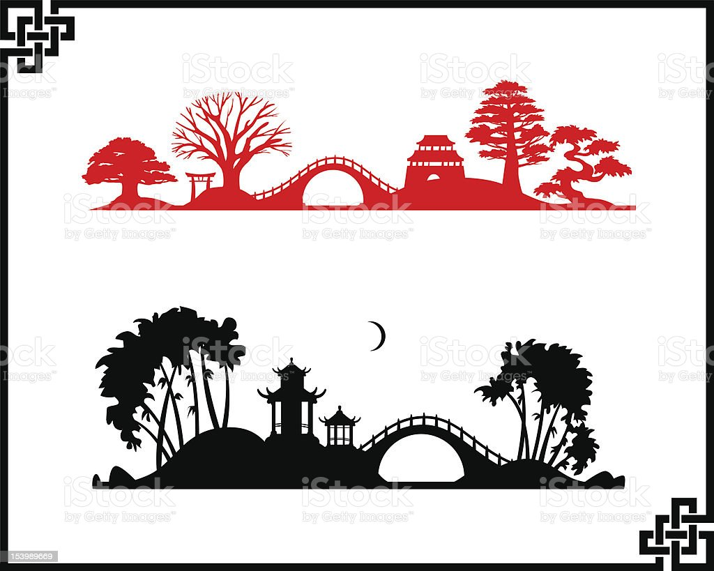 Abstract chines landscapes royalty-free abstract chines landscapes stock vector art & more images of abstract