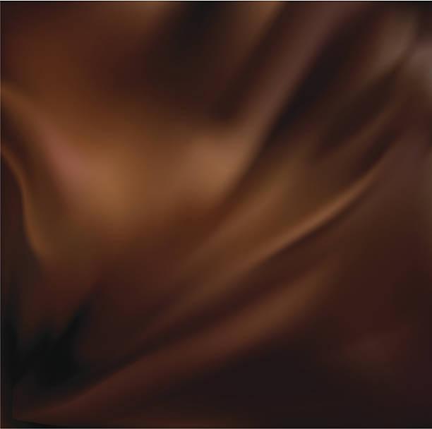 stockillustraties, clipart, cartoons en iconen met abstract chocolate background - zijde