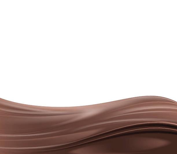 stockillustraties, clipart, cartoons en iconen met abstract chocolate background - siroop