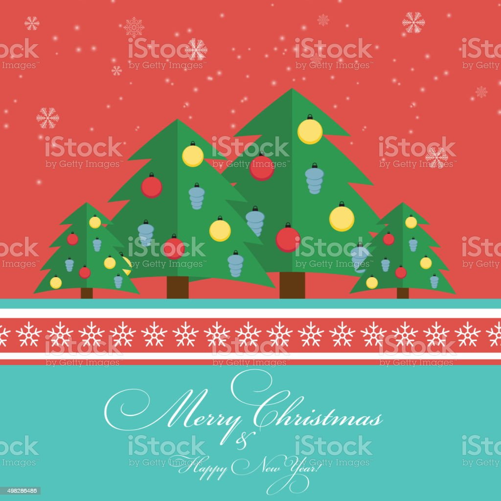 abstract christmas and new year background vector illustration royalty free abstract christmas and new