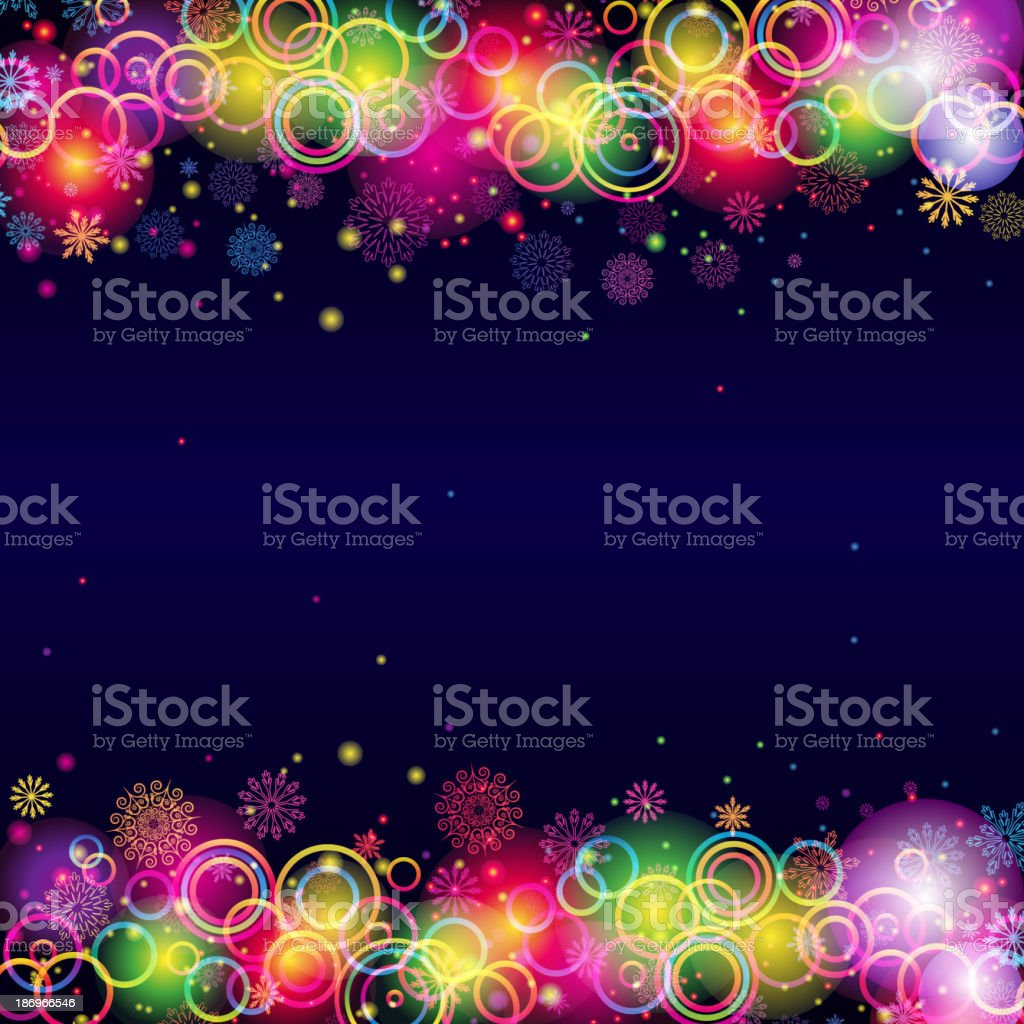 Abstract Christmas Background. royalty-free stock vector art