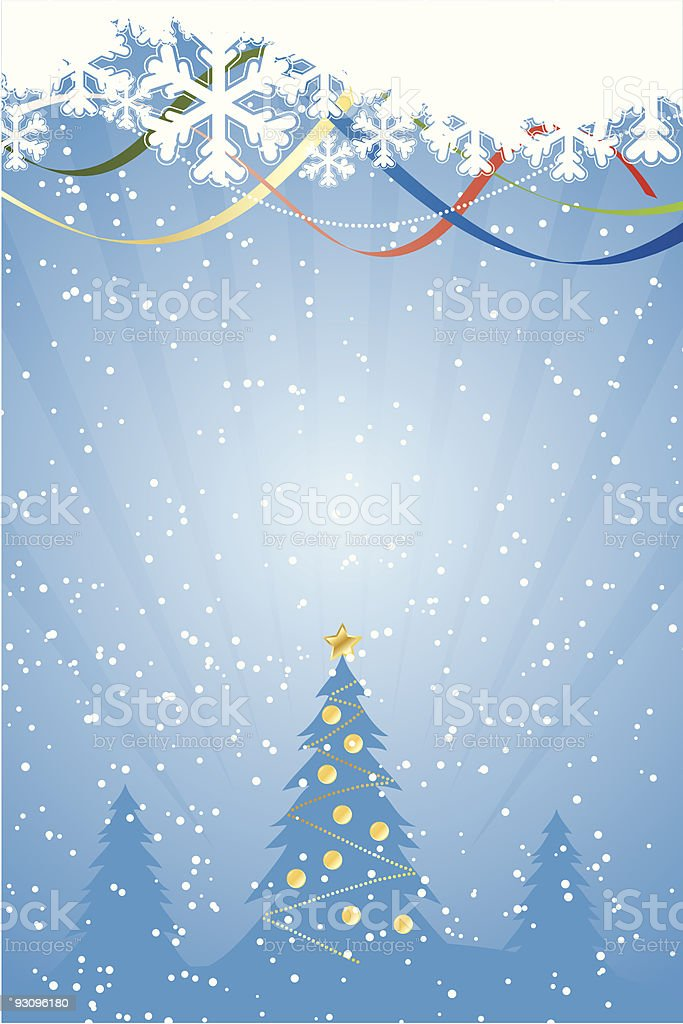 Abstract Christmas Background royalty-free abstract christmas background stock vector art & more images of art and craft
