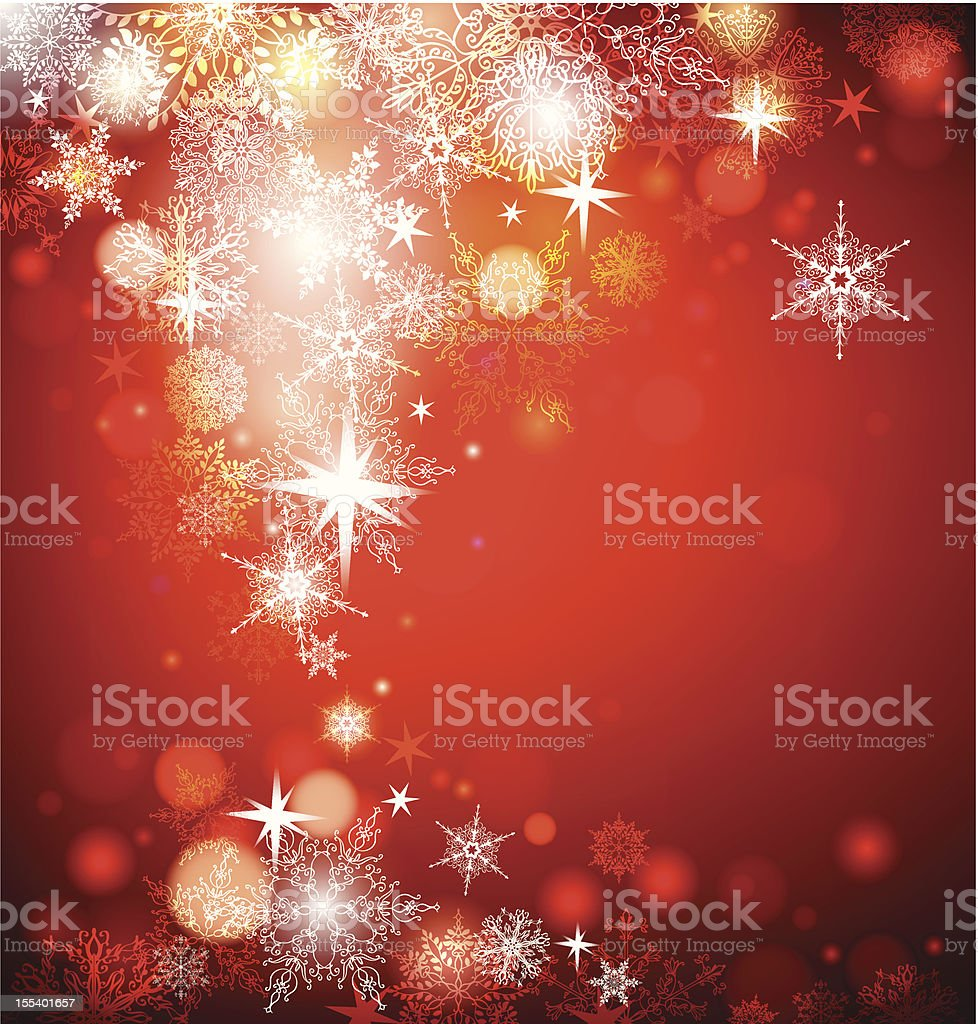 Abstract Christmas background with snowflakes. royalty-free abstract christmas background with snowflakes stock vector art & more images of 2013