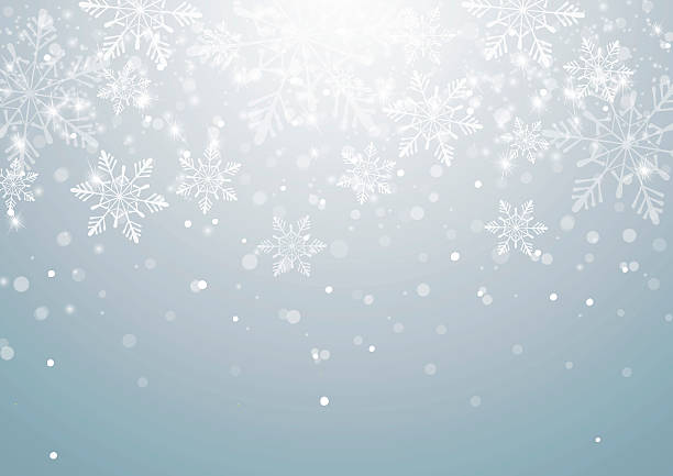 abstract christmas background with snowflakes - winter fashion stock illustrations, clip art, cartoons, & icons