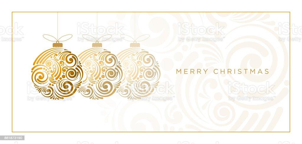 Abstract Christmas Design vector art illustration