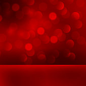 Vector  illustration Abstract Christmas red light background