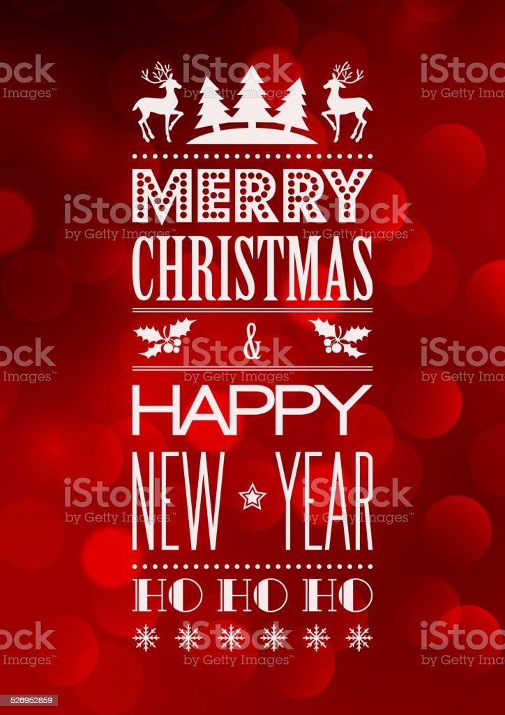 Sfondi Natalizi Su Cui Scrivere.Astratto Natale Sfondo Chiaro Con Retro Tipografia Immagini