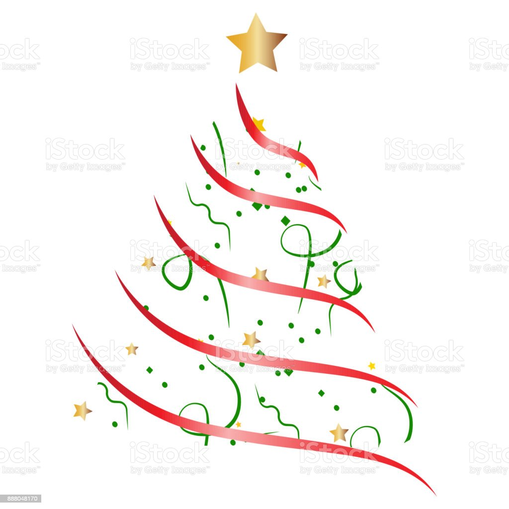 Abstract Christmas Tree Stock Vector Art & More Images of Backgrounds 888048170 | iStock