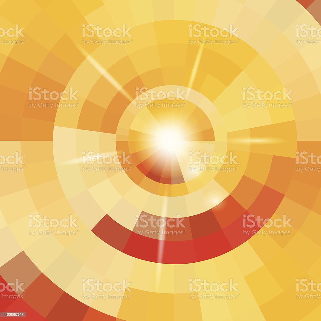 Abstract circle background royalty-free stock vector art