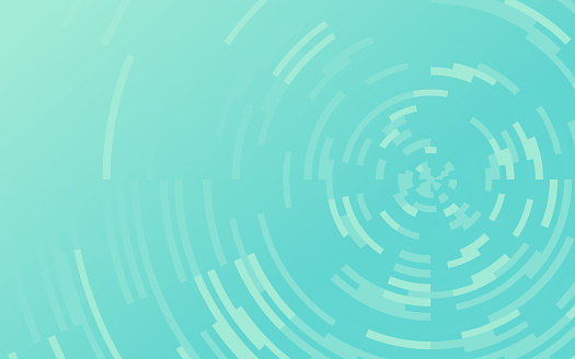 Abstract Circle Depth Background Pattern