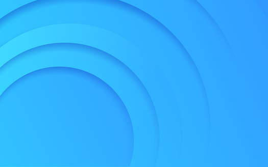 Abstract Circle Layers Background