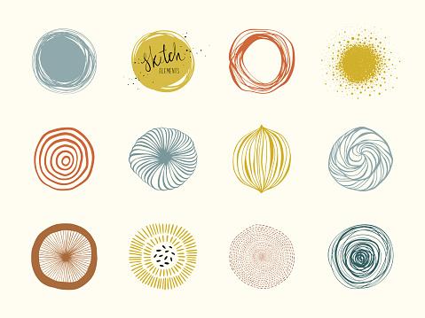 Abstract Circle Shapes 01