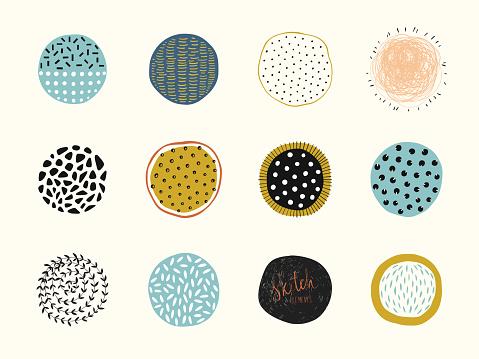 Abstract Circle Shapes 02