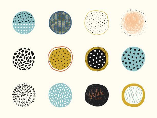 抽象圓形 02 - 圖畫 藝術品 幅插畫檔、美工圖案、卡通及圖標