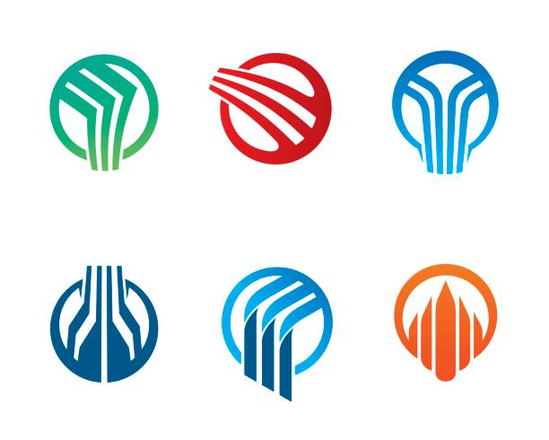 Abstract Circle Symbol Template Design Vector, Emblem, Design Concept, Creative Symbol, Icon vector art illustration
