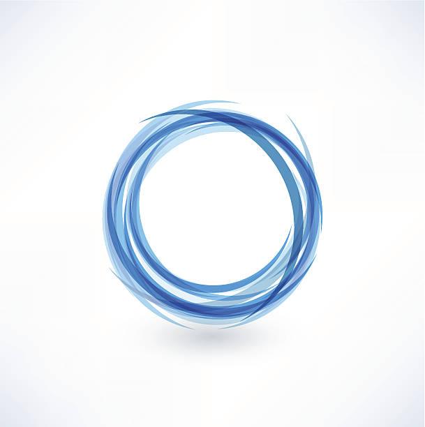 Abstract Circle vector art illustration