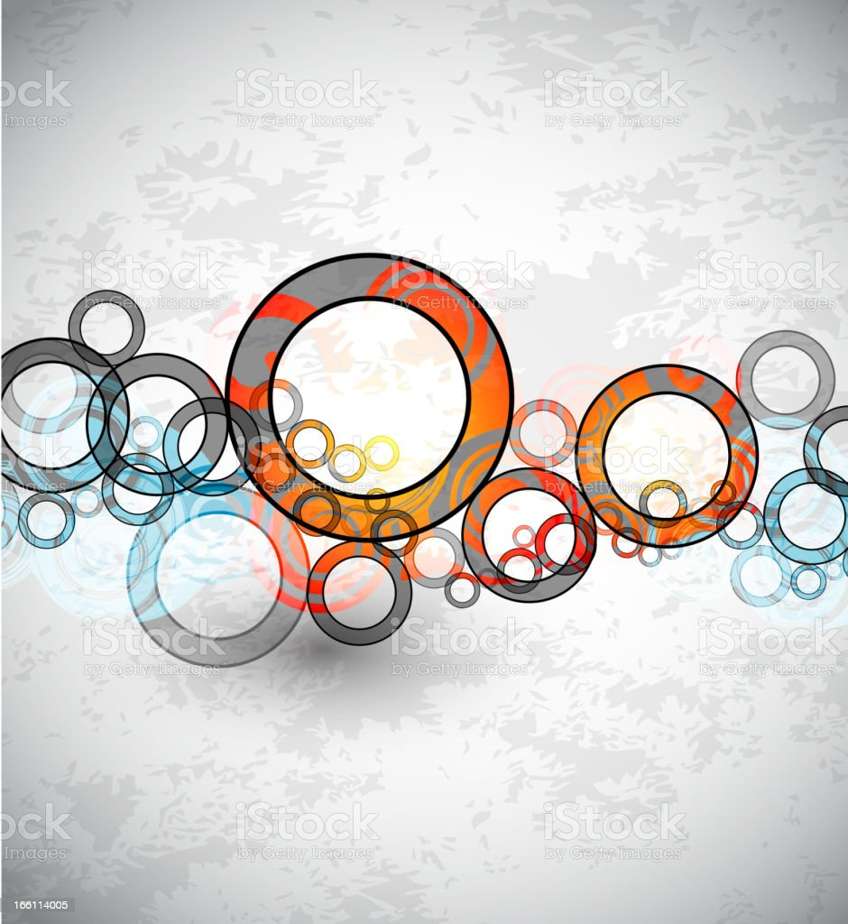 Abstract circles background royalty-free abstract circles background stock vector art & more images of abstract