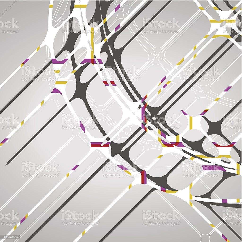 Abstract circles background royalty-free stock vector art