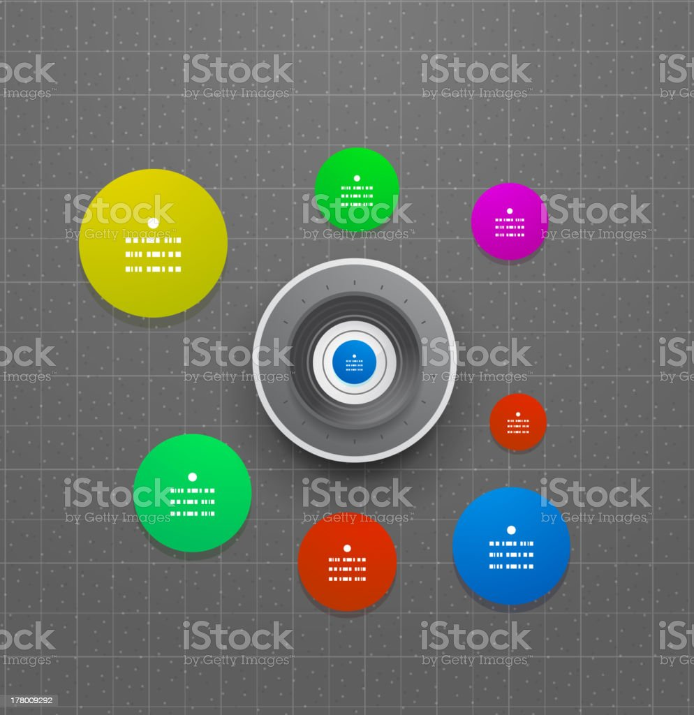 Abstract circles infographic design royalty-free abstract circles infographic design stock vector art & more images of abstract
