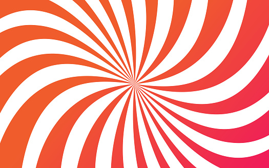 Abstract Circling Rays Background