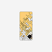 Abstract circuit board system pattern technology icon