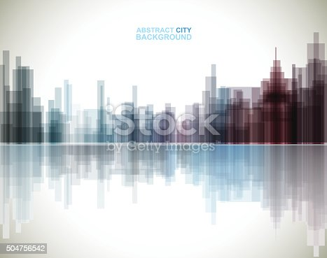 abstract city pattern background.EPS10
