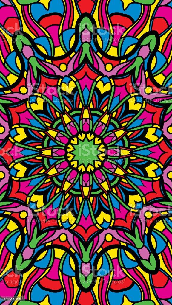 Fond de couleur abstraite. Adapté pour le fond sur le téléphone - clipart vectoriel de Abstrait libre de droits