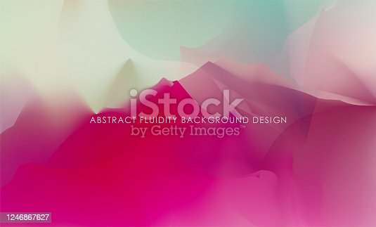 istock abstract color Chinese mountains and waters painting landscape background 1246867627