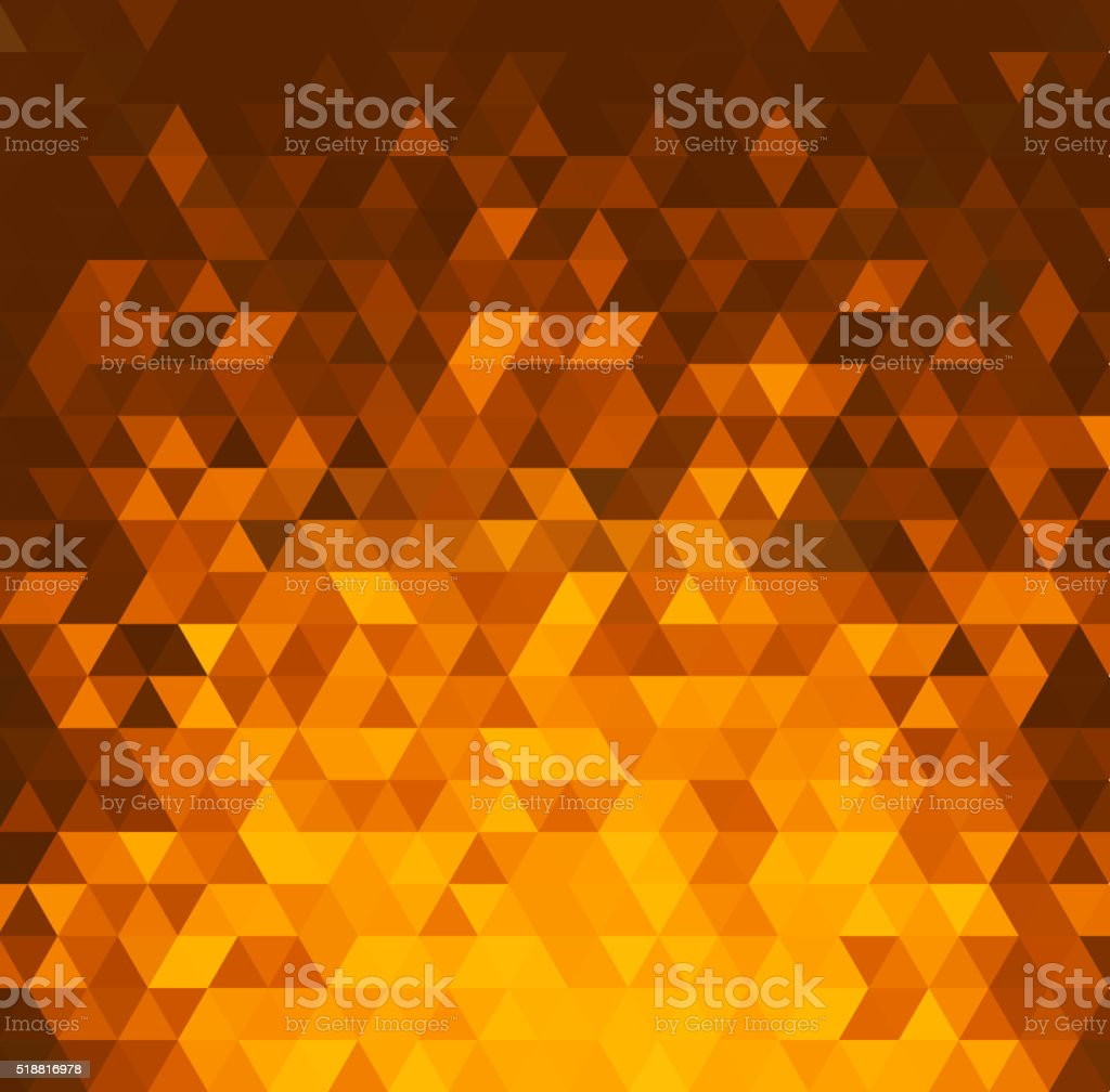 Abstract color mosaic background vector art illustration