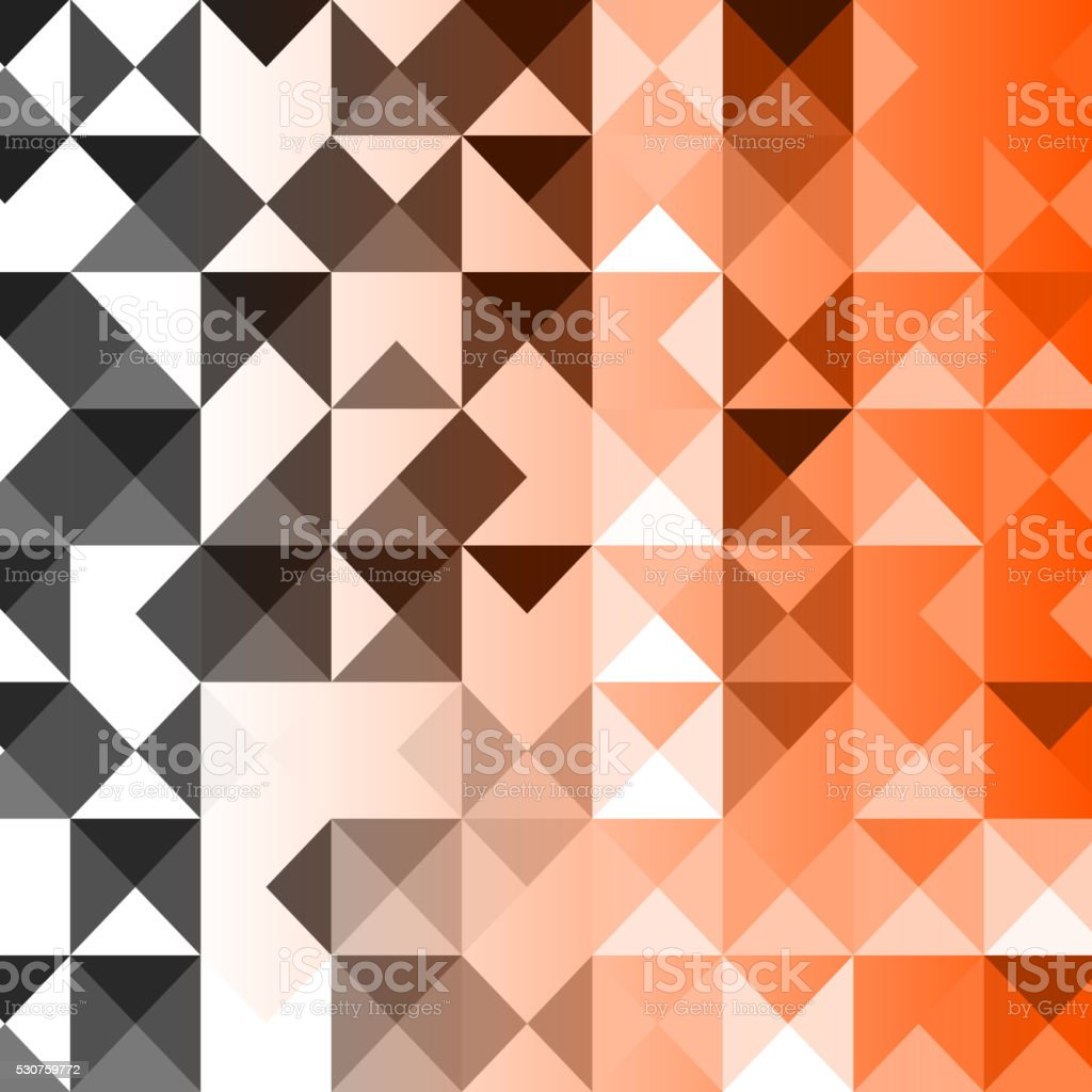abstract color mosaic pattern vector art illustration
