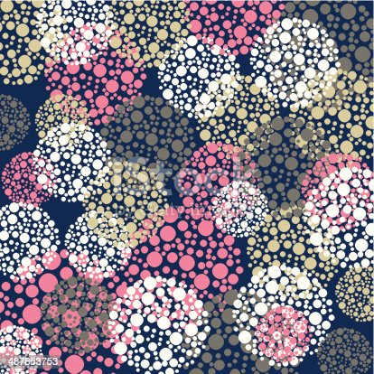 istock abstract color round pattern background 487853753