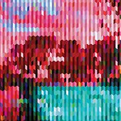 abstract color stripe pattern background for design