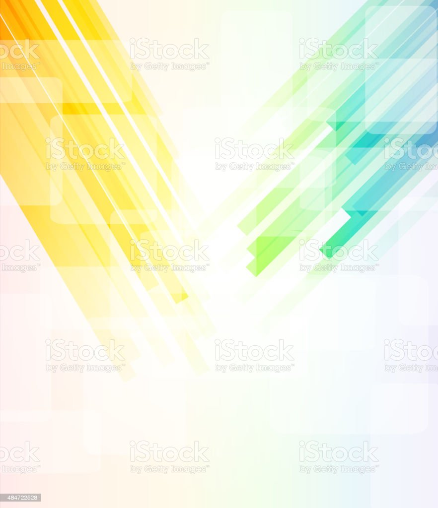abstract color technology stripe pattern background for design vector art illustration