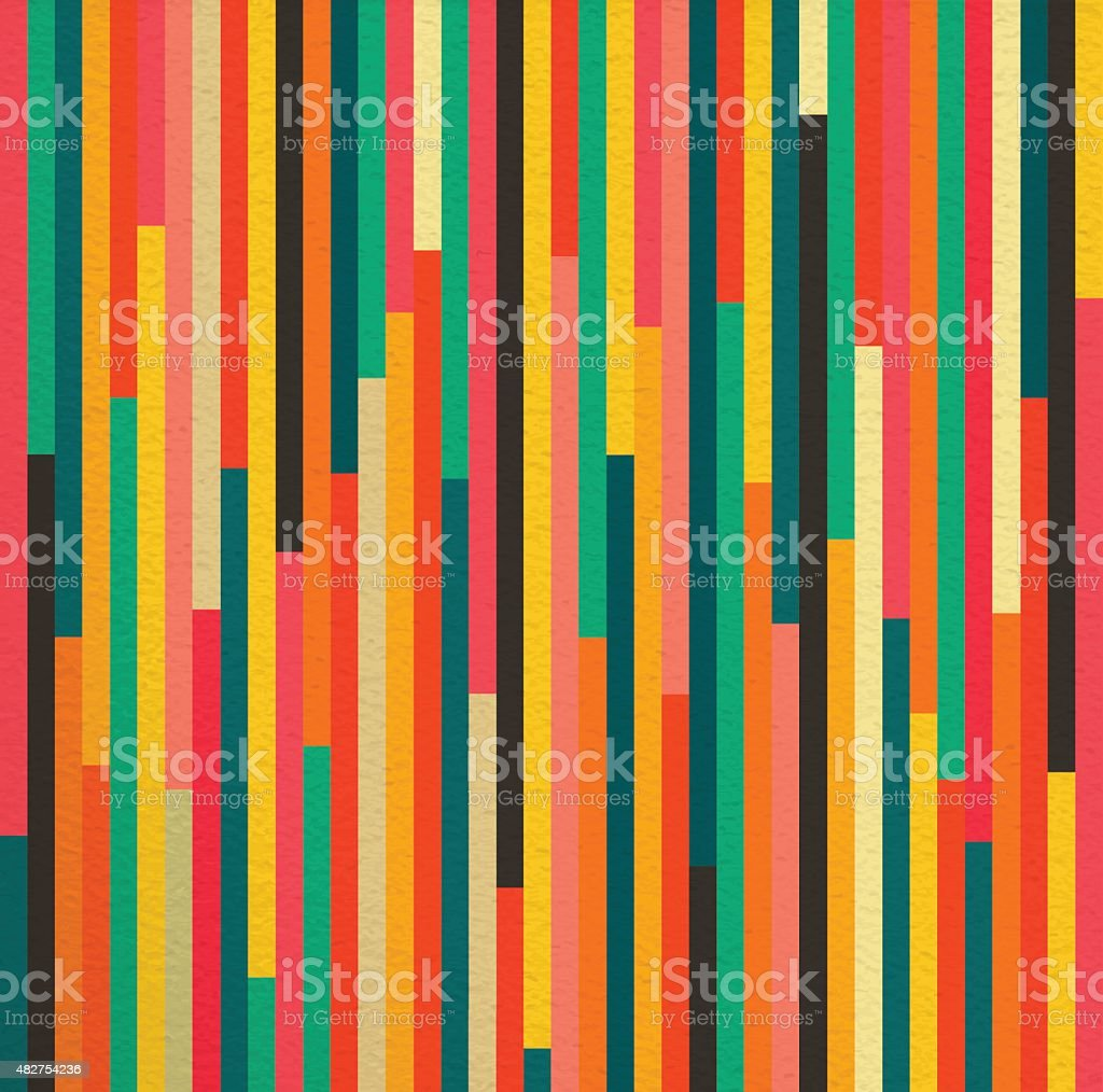 Abstract color vintage retro seamless pattern background