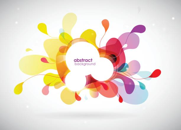 ilustrações, clipart, desenhos animados e ícones de ilustração de fundo abstrato colorido - planos de fundo coloridos