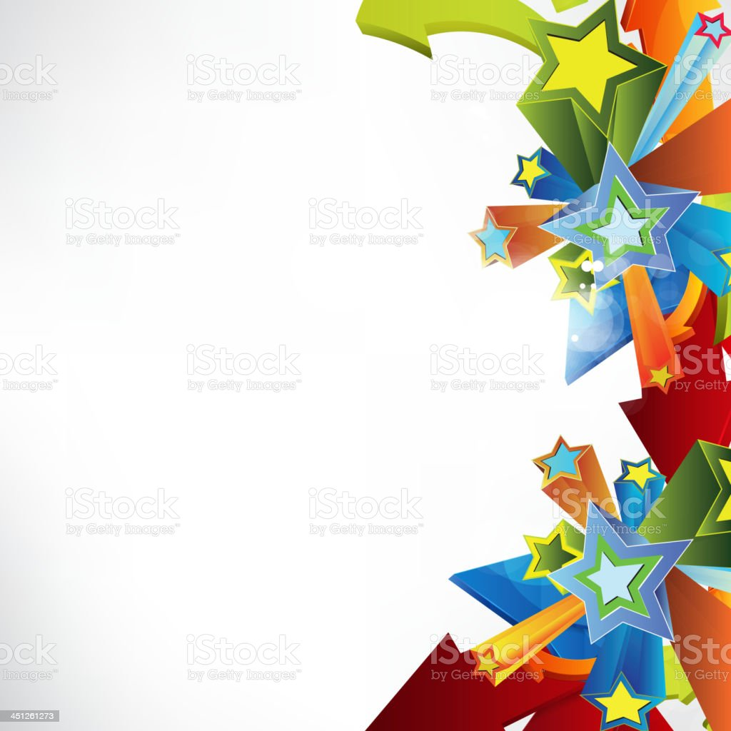 Abstract colored background royalty-free stock vector art