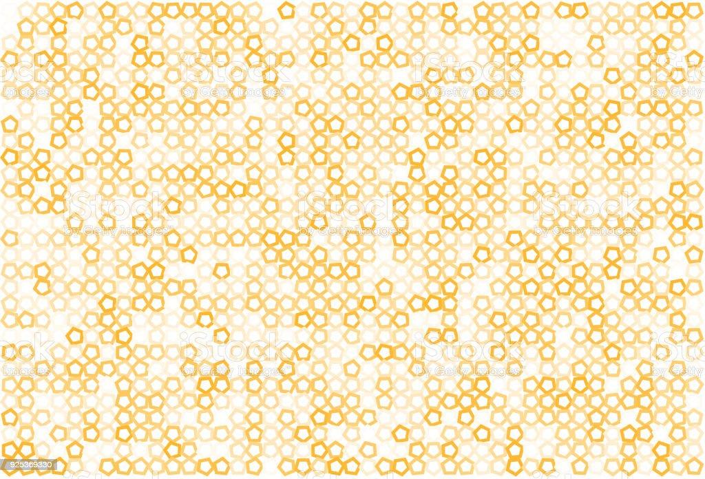抽象的な色ペンタゴン形状パターン壁紙詳細テンプレート モザイク